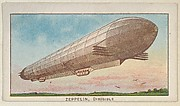 Zeppelin, Dirigible, from the Airships series (E40) issued by the Philadelphia Caramel Company