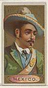 Mexico, from the Types of All Nations series (N24) for Allen & Ginter Cigarettes