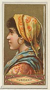 Tuscany, from the Types of All Nations series (N24) for Allen & Ginter Cigarettes