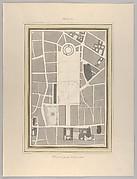 La Halle aux Blés, Street Plan