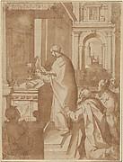 A Priest Celebrating Mass