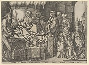 The Rich Man on His Deathbed, from The Parable of the Rich Man and Lazarus