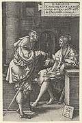 Amnon and Jonadab, from The Story of Amnon and Tamar