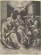 Saint Peter, John the Baptist, Saint Paul, and the Trinity