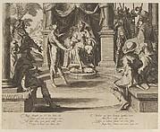 Alexander the Great as a Judge, from Thronus Justitiae, tredecim pulcherrimus tabulis..., plate 10