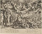 The Last Judgment, from Thronus Justitiae, tredecim pulcherrimus tabulis..., plate 13
