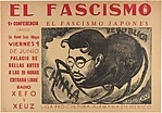 Fascism. The Japanese Fascist