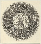 Portrait of William I of Orange, from a Series of Tazza Designs