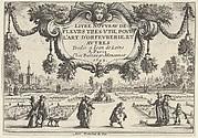 Title Plate, from Livre Nouveau de Fleurs Tres-Util