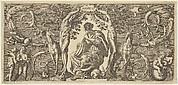 Hearing (Auditus), from Quinque Sensuum