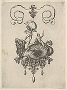 Pendant Design with a Sea Monster Ridden by Thetis and a Man with a Sail