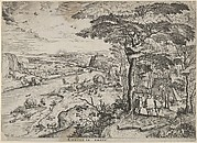 Euntes in Emaus (Landscape with Pilgrims at Emmaus)