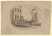 Fancy & Windsor Chair Manufactory, Wholesale & Retail, Thomas Ash, No. 33 John Street, New York