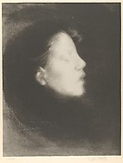 Head of a Woman (Tête de femme) (Nelly Carrière / Closed Eyes / Profile of a Young Girl)