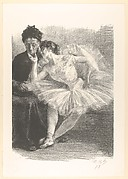 Dancer and Her Mother (from L'Estampe Originale, Album VIII)