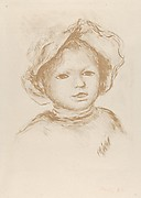 Pierre Renoir from the Front (Head of a Child / Tête d'enfant)