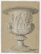 Marcus Aurelius on Horseback (recto); Study of an Antique Vase (verso)