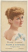 Elsie Loane, from World's Beauties, Series 2 (N27) for Allen & Ginter Cigarettes