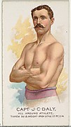 Captain J.C. Daly, All Around Athlete, from World's Champions, Series 2 (N29) for Allen & Ginter Cigarettes