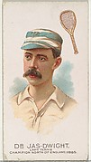 Dr. James Dwight, Lawn Tennis Champion North of England 1885, from World's Champions, Series 2 (N29) for Allen & Ginter Cigarettes