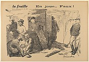 En joue...Faux! (from La Feuille)