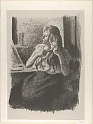 Woman Combing Her Hair (Femme se coiffant)