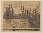 The Fishing Fleet (from L'Estampe originale, Album VII)