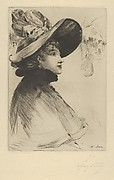 Head of a Parisian Woman (from L'Estampe Originale, Album V)