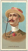 Parisian, from World's Smokers series (N33) for Allen & Ginter Cigarettes