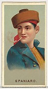 Spaniard, from World's Smokers series (N33) for Allen & Ginter Cigarettes