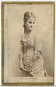 Julia Cordon, from the Actresses and Celebrities series (N60, Type 2) promoting Little Beauties Cigarettes for Allen & Ginter brand tobacco products