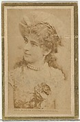 Elsie Dean as Violetta in Cinderella, from the Actresses and Celebrities series (N60, Type 2) promoting Little Beauties Cigarettes for Allen & Ginter brand tobacco products