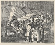 Food Market Old Style