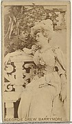 Georgie Drew Barrymore, from the Actors and Actresses series (N145-8) issued by Duke Sons & Co. to promote Duke Cigarettes