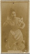 Mlle. Demeale, from the Actors and Actresses series (N145-8) issued by Duke Sons & Co. to promote Duke Cigarettes