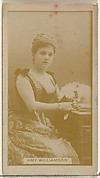 Amy Williamson, from the Actors and Actresses series (N145-8) issued by Duke Sons & Co. to promote Duke Cigarettes
