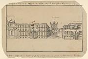 View of Via Balbi in Genoa