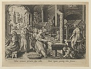 The Reeling of Silk, Plate 6 from