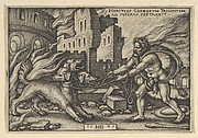 Hercules Capturing Cerberus from The Labors of Hercules