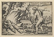 The Death of Hercules from The Labors of Hercules