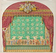 Design for a Theater Curtain