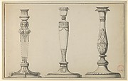 Three Designs for Candlesticks