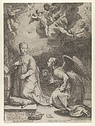 Annunciation from The Birth and Early Life of Christ