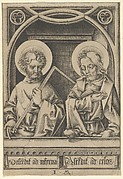 Saints Thomas and James the Lesser, from The Apostles