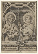 St. Bartholomew and St. Philip, from The Apostles