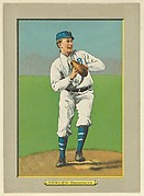 Bill Bergen, Catcher, Brooklyn Dodgers (National League), from Turkey Red Cabinets (T3)