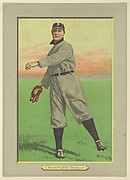 Sam Crawford, Right Fielder, Detroit Tigers (American League), from Turkey Red Cabinets (T3)
