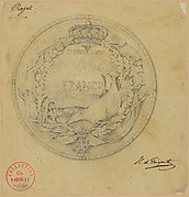 Design for the Medal to Commemorate the Charter of 1830