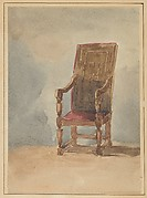 Study of an Antique Armchair