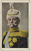 Card No. 5, King Peter of Servia, from the World War I Scenes series (T121) issued by Sweet Caporal Cigarettes